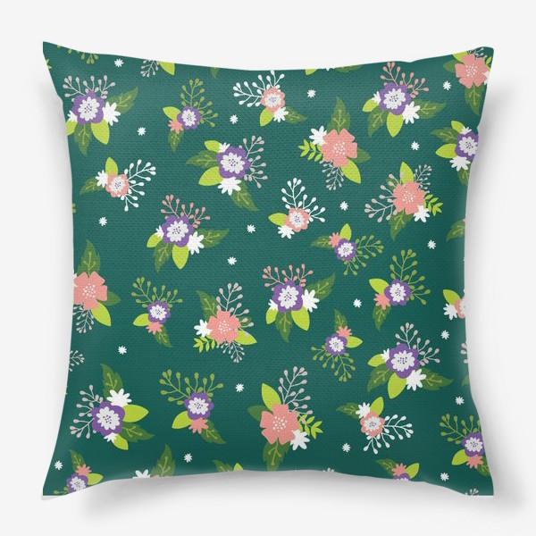Подушка «Цветочная поляна»