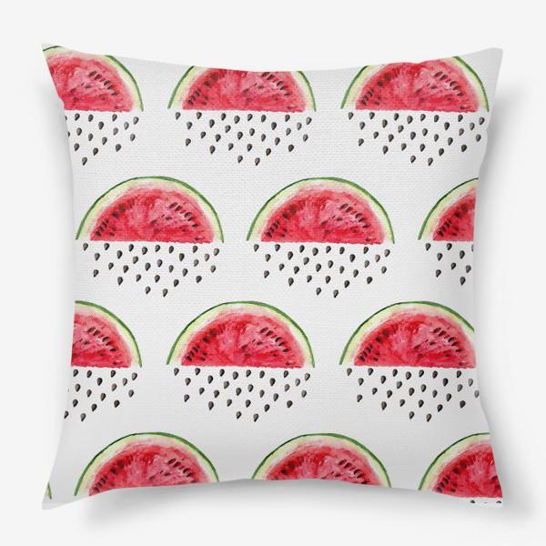 Подушка «Арбузный дождик»