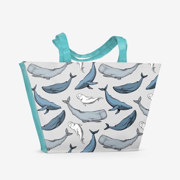 Пляжная сумка «Друзья киты»