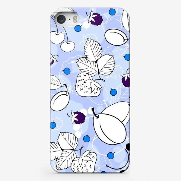 Чехол iPhone «Фрукты и ягоды»