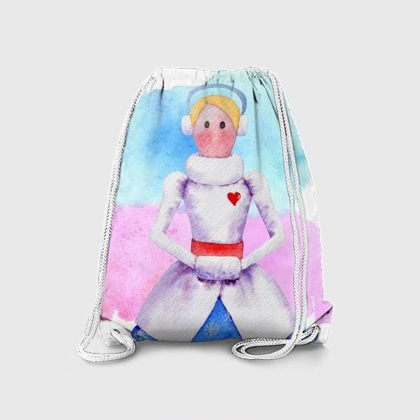Рюкзак «Тильда Снегурочка»