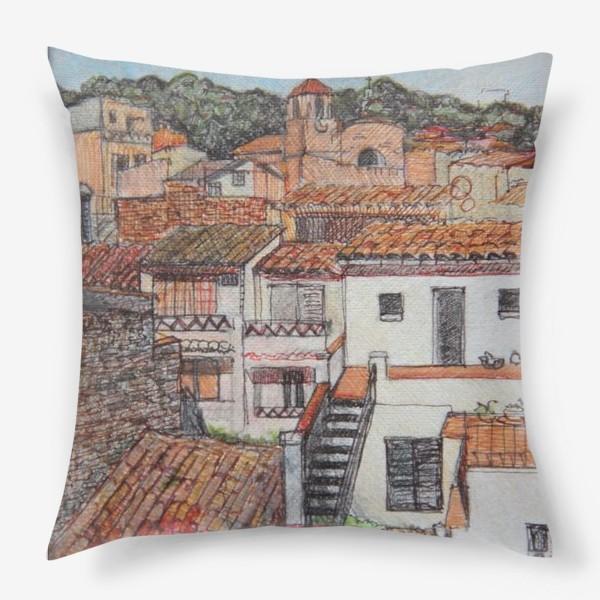 Подушка «Tossa de Mar»