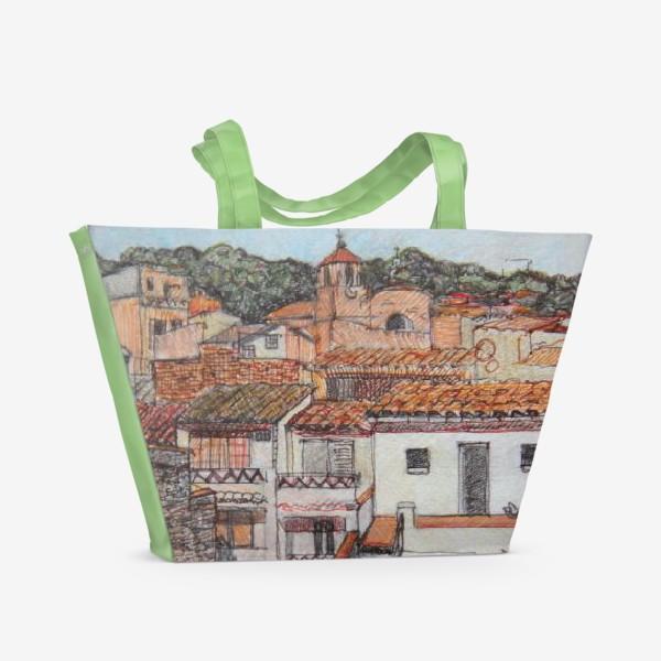 Пляжная сумка «Tossa de Mar»
