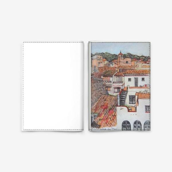 Обложка для паспорта «Tossa de Mar»