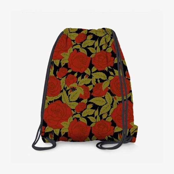 Рюкзак «красные розы»