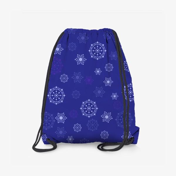 Рюкзак «снежинки»