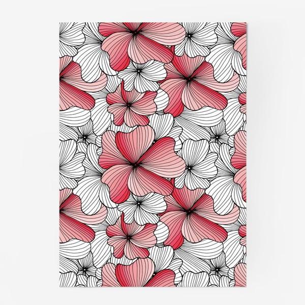 Постер «Вспоминая о весне, розовый цвет сакуры»
