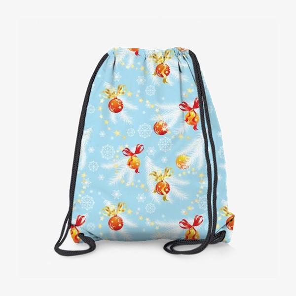 Рюкзак «елочные шары»