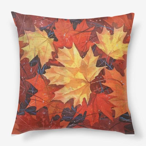 Подушка «Осенние листья»