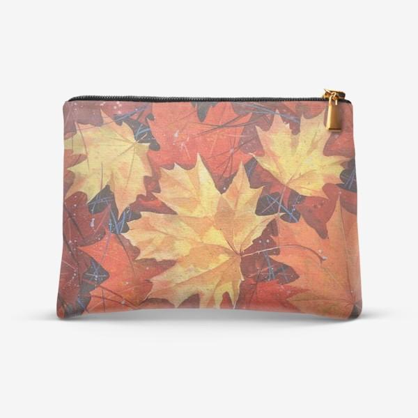 Косметичка «Осенние листья»