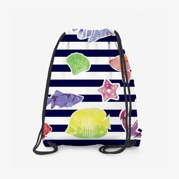 Рюкзак «В мире морском»