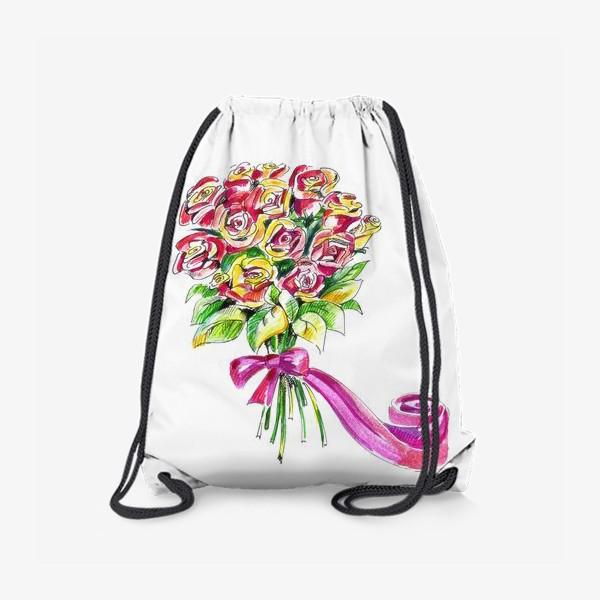 Рюкзак «Букет роз»