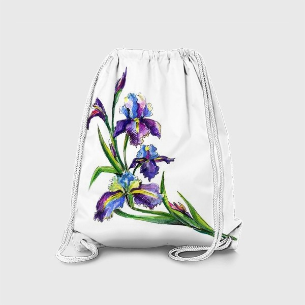 Рюкзак «Ирисы»