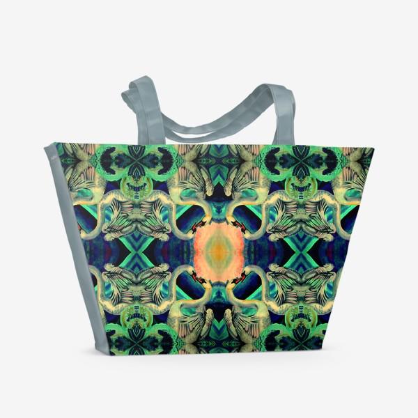 Пляжная сумка «лебеди »