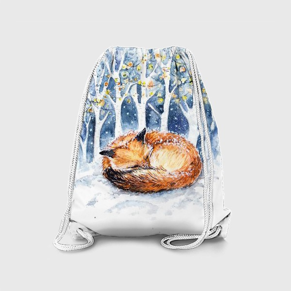 Рюкзак «Зимняя лисичка»
