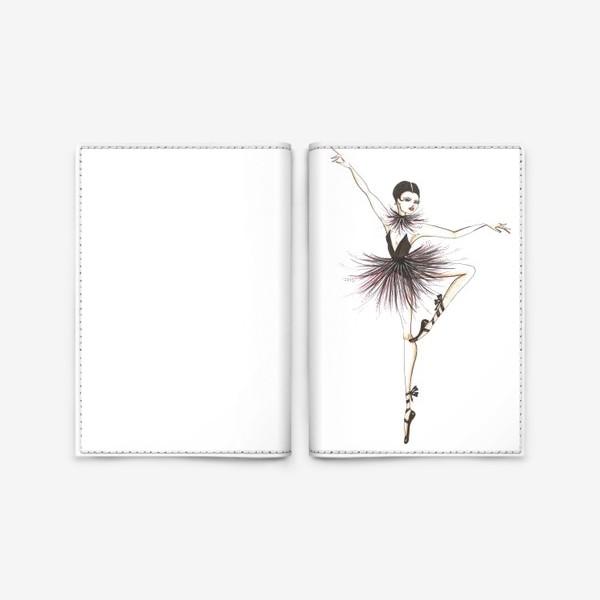 Обложка для паспорта «Балерина»