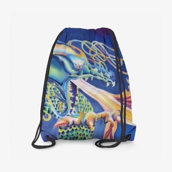 Рюкзак «Синий дракон »