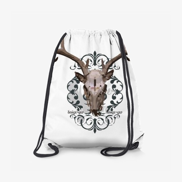 Рюкзак «Череп оленя »