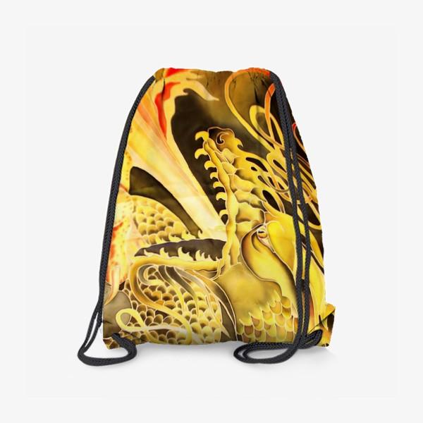 Рюкзак «Зеленый дракон »