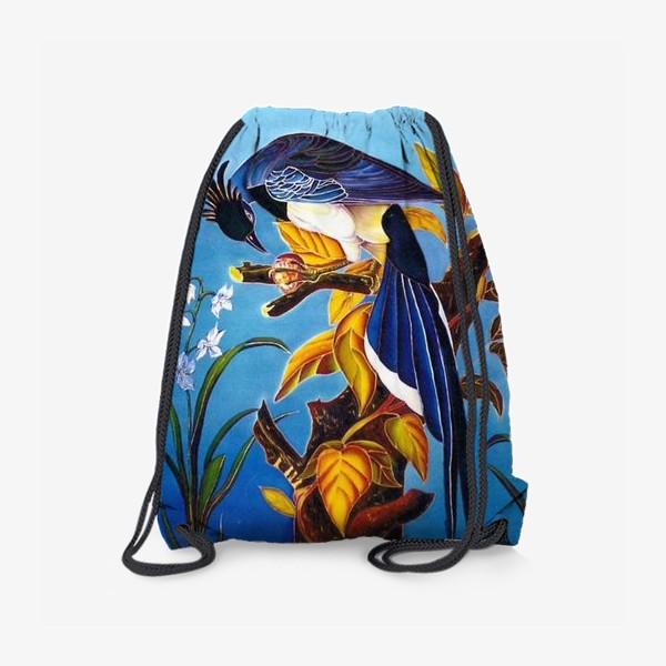 Рюкзак «синяя птица »