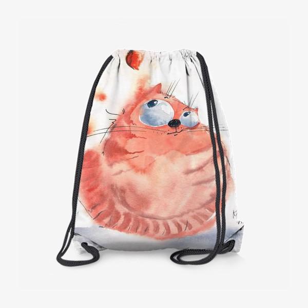Рюкзак «Осенний кот»