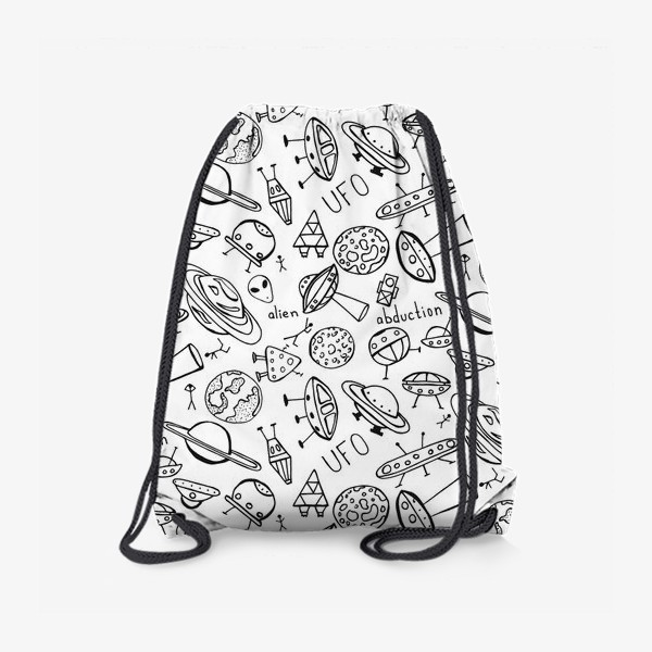 Рюкзак «НЛО UFO раскраска»