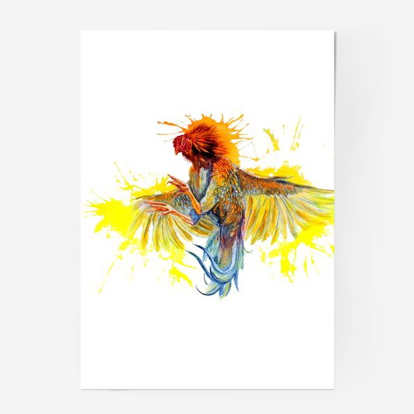 Постер «Петух (rooster)»