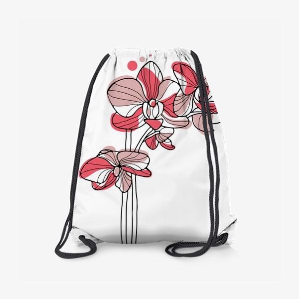 Рюкзак «Орхидея. Букет для любимой.»