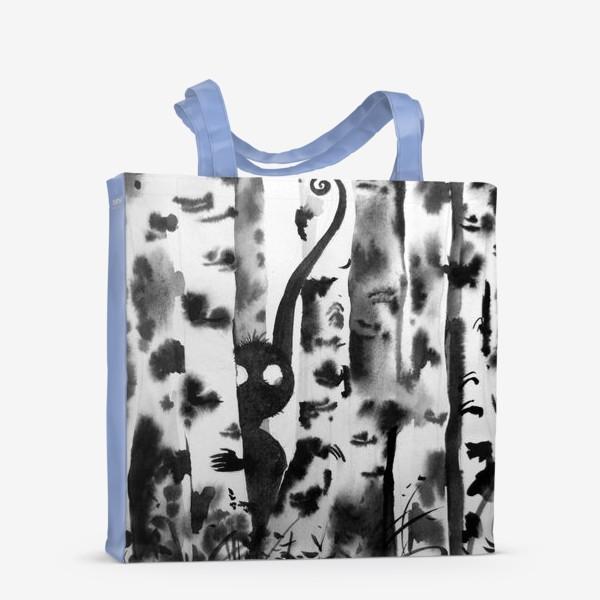 Сумка-шоппер «Лесной дух в березках»