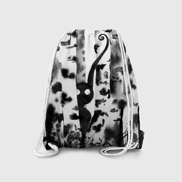 Рюкзак «Лесной дух в березках»