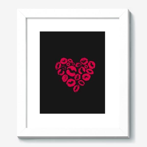 Картина «kisses heart»