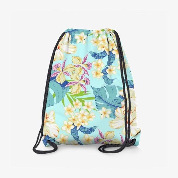 Рюкзак «Цветы. Гавайи.»