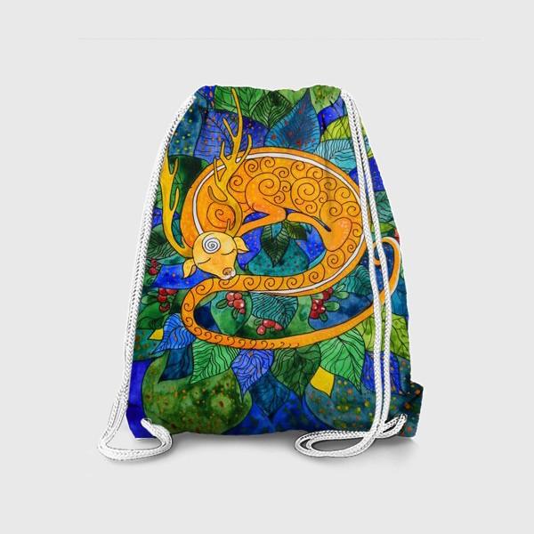 Рюкзак «Дракон-олененок»
