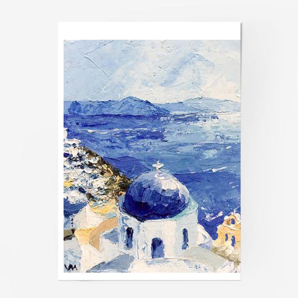 Постер «Santorini»
