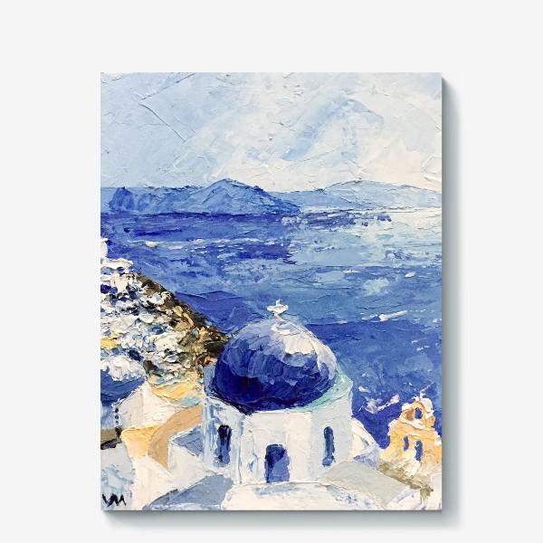 Холст «Santorini»