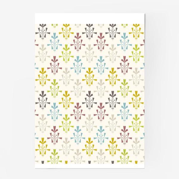 Постер «Vintage pattern»