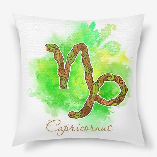 Подушка «козерог »