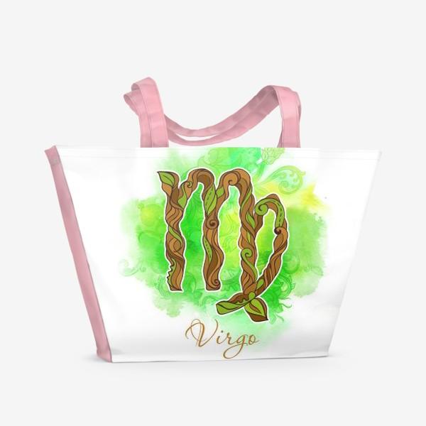 Пляжная сумка «дева»