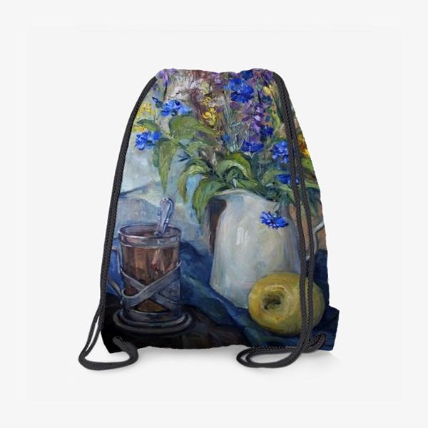 Рюкзак «чай с васильками»