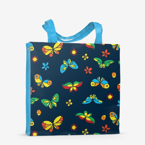 Сумка-шоппер «Тропические бабочки»