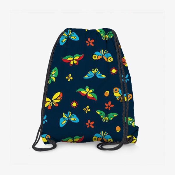 Рюкзак «Тропические бабочки»