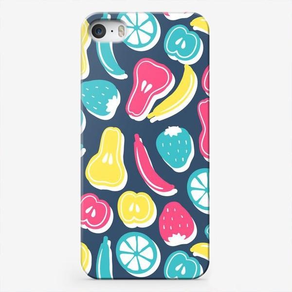 Чехол iPhone «Фрукты»