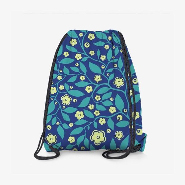 Рюкзак «Абстрактные цветочки»