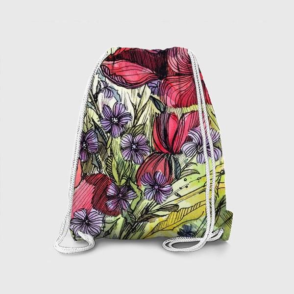 Рюкзак «Полевые цветы»