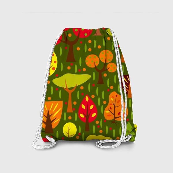 Рюкзак «Осенний мультяшный лес»