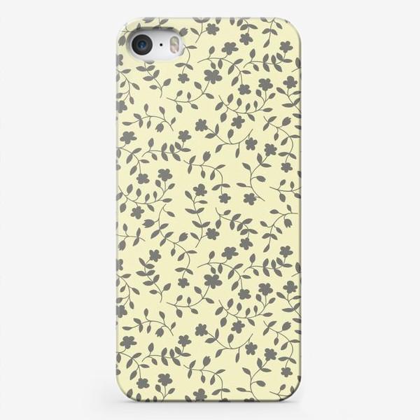 Чехол iPhone «plant pattern»