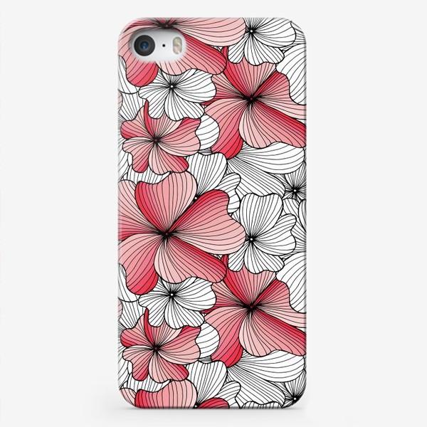 Чехол iPhone «Вспоминая о весне, розовый цвет сакуры»