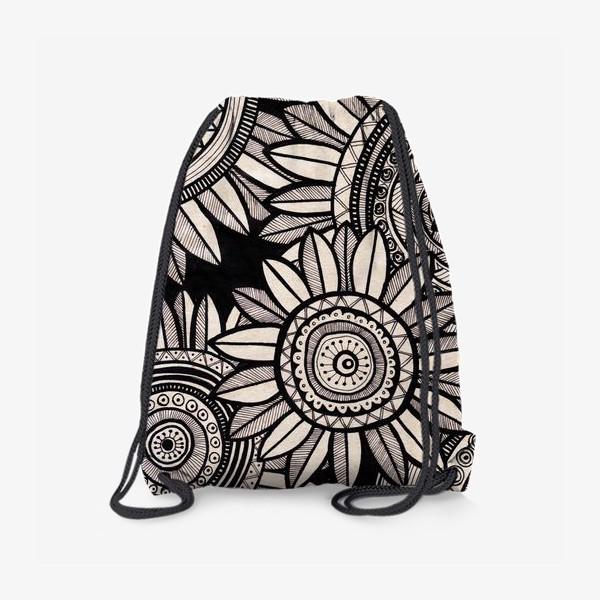 Рюкзак «Этнические подсолнухи»