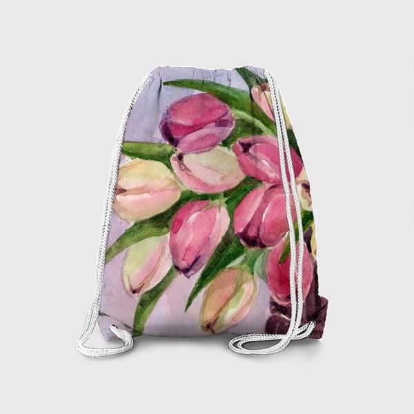 Рюкзак «Букет тюльпанов»