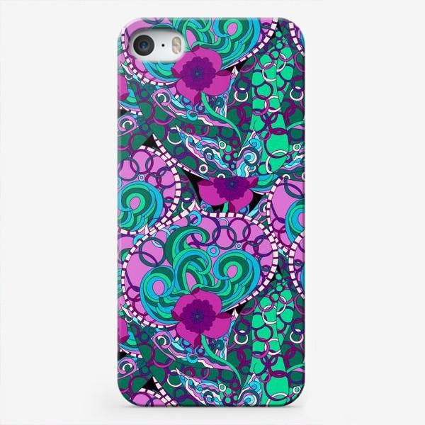 Чехол iPhone «Абстрактный флюр узор»